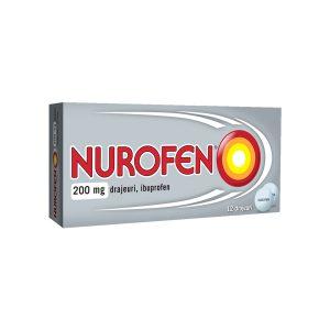 Nurofen 200 mg, 10 drajeuri