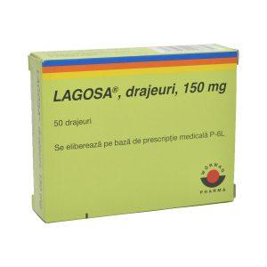 Lagosa X 50 drajeuri 150 mg
